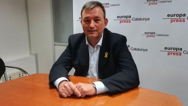 Josep Maria Cervera, presidente de la AMI en una entrevista