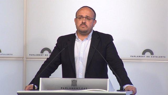 Alejandro Fernández en rueda de prensa/ARCHIVO