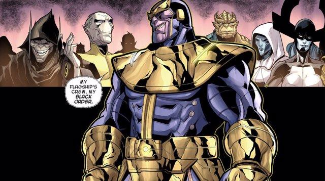 Thanos y su Orden Negro en los Cómics