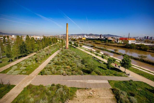 La infraestructura verde del Parc Riu Llobregat