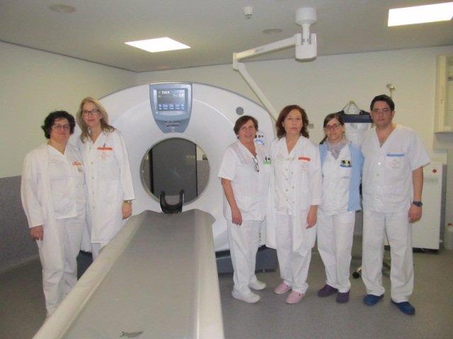 El nuevo TAC del hospital de Yecla