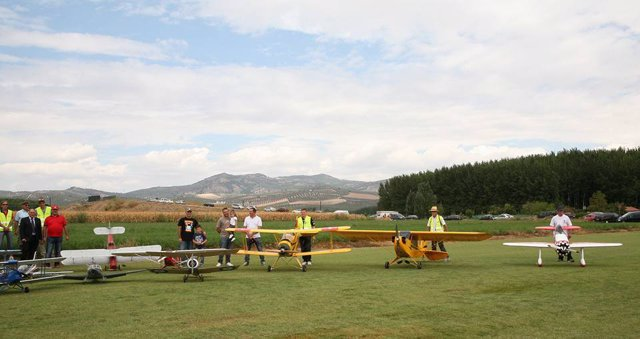 Festival de Aeromodelismo de Huétor Tájar