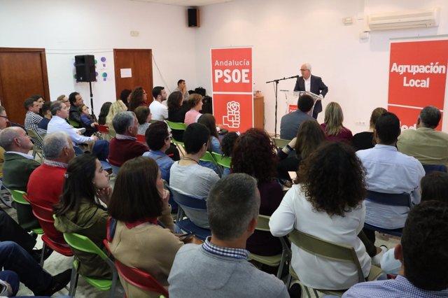 Acto del PSOE de Medina Sidonia (Cádiz)