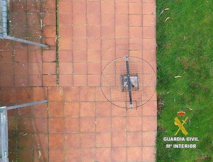 La Guardia Civil investiga a un vecino de Avilés por un delito relativo a la protección de la flora y la fauna