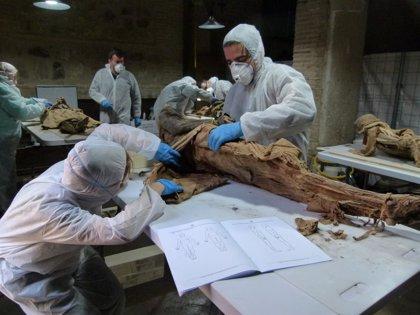 El conjunto de momias de la Iglesia de San Andrés, el mayor de España, ya es visitable