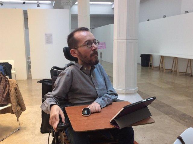 Secretario de Organización de Podemos, Pablo Echenique