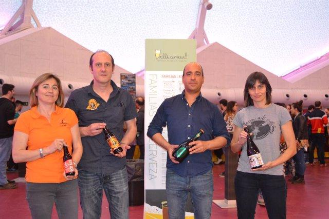 Valladolid.- Integrantes de la Asociación de Cervezas Artesanales de Valladolid