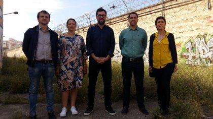 Noguera visita el antiguo centro penitenciario de Palma y defiende su nuevo uso como espacio de creación cultural