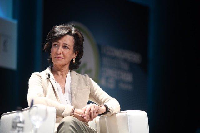 Ana Botín en el I Congreso de Industria Conectada 4.0