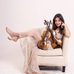 La violinista cartagenera Lina Tur