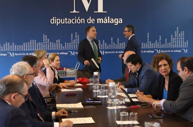Reunión junta de gobierno Diputación de Málaga