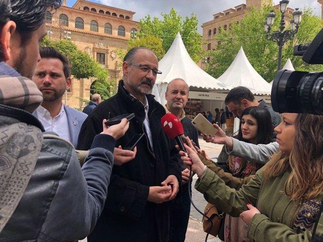 Salamanca (28-04-2018).- Luis Fuentes