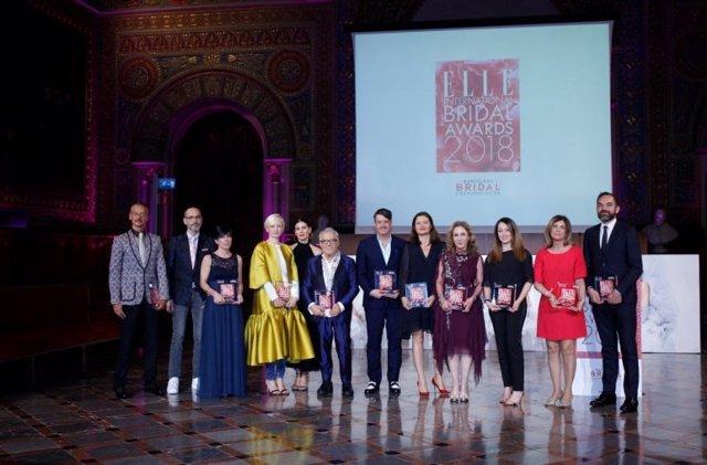 Ceremonia de los Elle International Bridal Awards