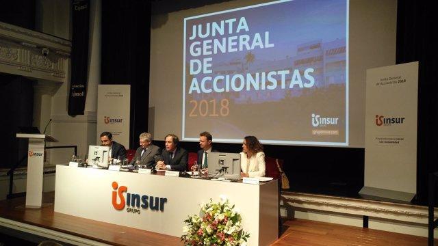 Junta general de accionistas de Insur