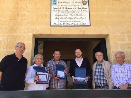 Concluyen las obras de mejora del Centro Deportivo de Petanca de la barriada malagueña de Los Prados