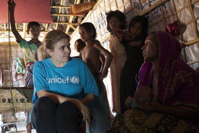 Paloma Escudero, directora global de comunicaciones de UNICEF