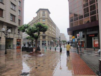 Este domingo, se espera una jornada lluviosa y máximas que rondarán los 13 grados