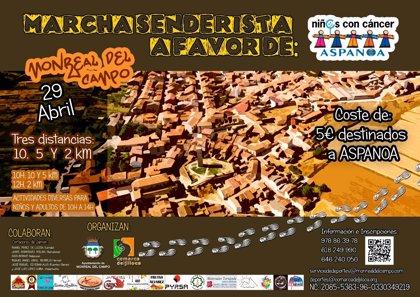 La Comarca del Jiloca y el Ayuntamiento de Monreal del Campo (Teruel) organizan una jornada contra el cáncer infantil