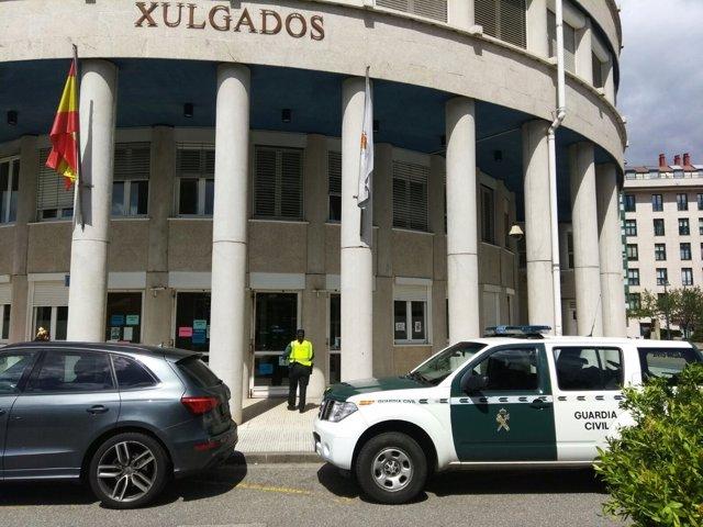 La Guardia Civil detiene al hombre en los juzgados