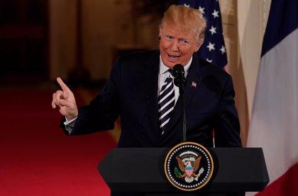 """Trump mantiene una """"larga charla"""" con el presidente de Corea del Sur con vistas al encuentro con Kim Jong Un"""
