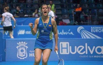 Carolina Marín pasa a la final y buscará su cuarto Europeo ante la rusa Kosetskaya