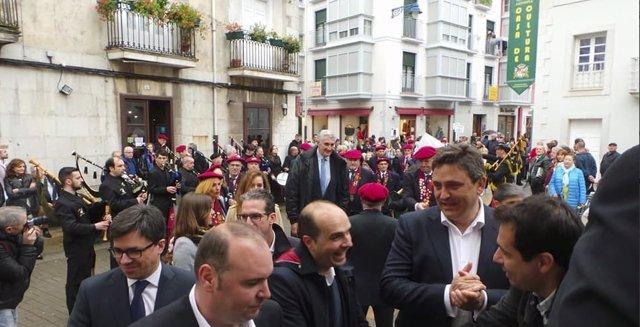 Fernando Romay se convierte en embajador de la anchoa de Cantabria