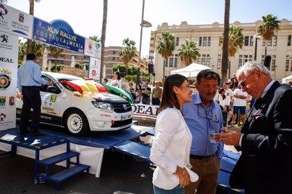 La Rambla de Almería acoge la salida de la 44 edición del Rallye 'Costa de Almería'