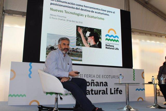 Alfonso Polvorinos participa en una jornada del Doñana Natural Life