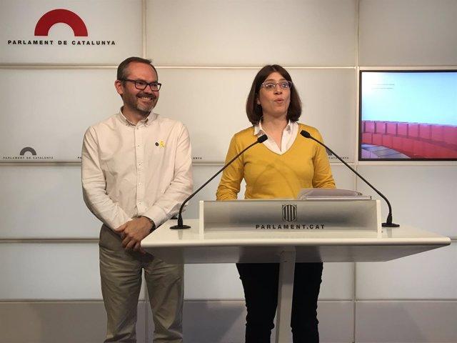 Josep Costa y Gemma Geis, JxCat
