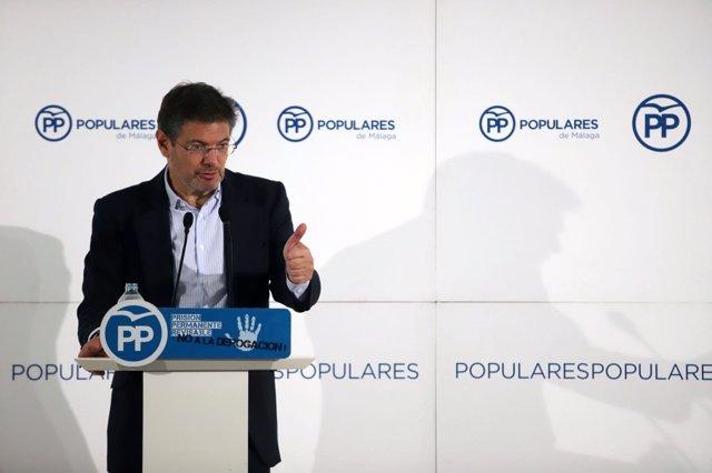 Ministro de Justicia, Rafel Catalá