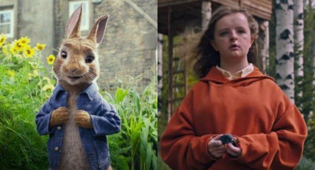 Peter Rabbit y Hereditary