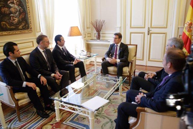 Feijóo se reúne con el gobernador de Querétaro