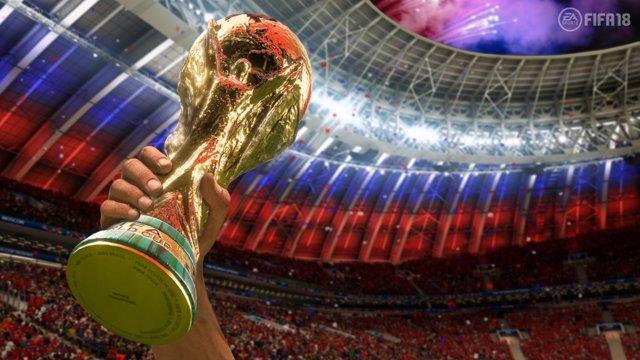 Copa Mundial de Fútbol de Rusia en FIFA 18