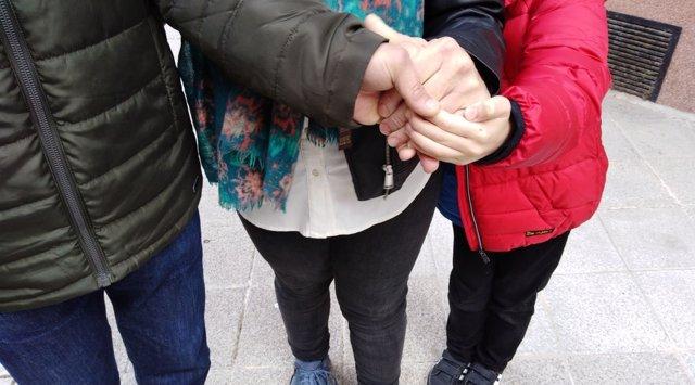Familia de un niño de Salamanca con distrofia muscular de Duchenne