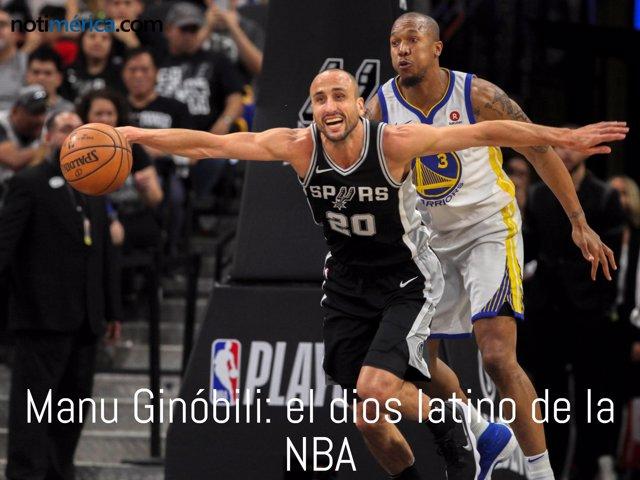 Ginóbili, el dios latino de la NBA finaliza su carrera