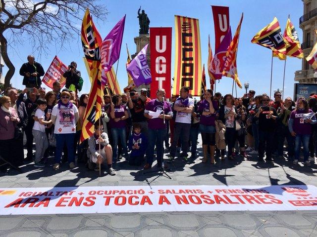 Manifestación del 1 de mayo en Tarragona