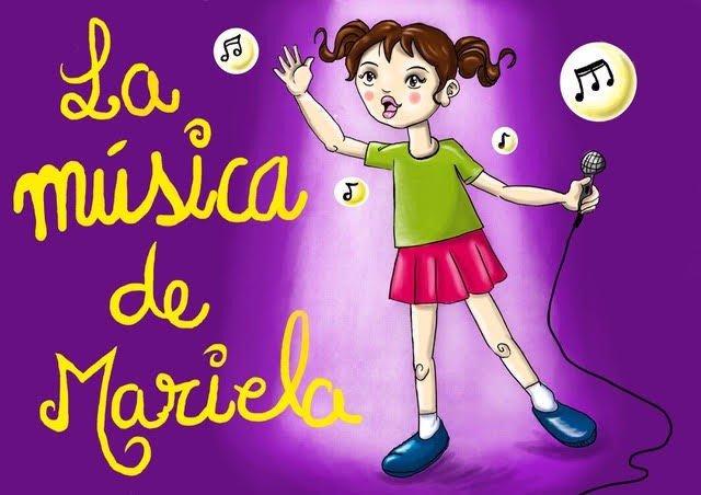 Cartel del cuento musical 'La música de Mariela'
