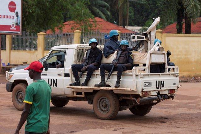 La ONU en Bangui (República Centroafricana)