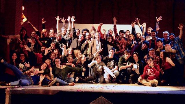 Participantes en el Festival de Teatro