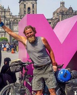 Ciclista alemán desaparecido