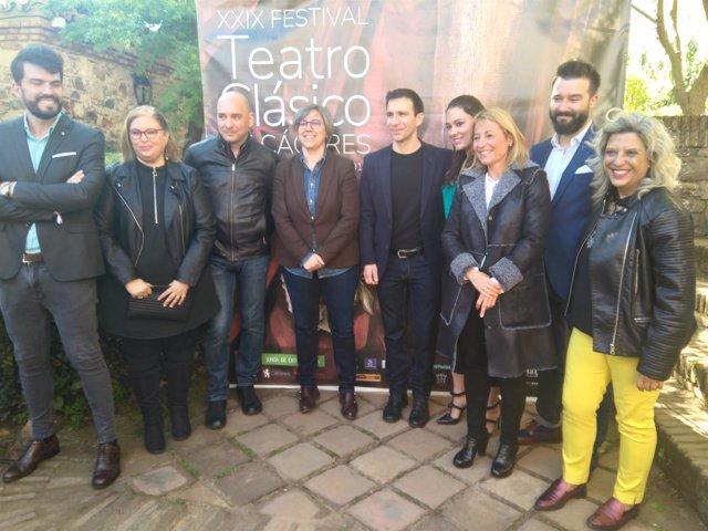 Presentación del XXIX Teatro Clásico de Cáceres