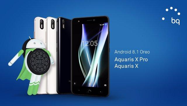Llega Android Oreo 8.1 a Aquaris X y Aquaris X Pro