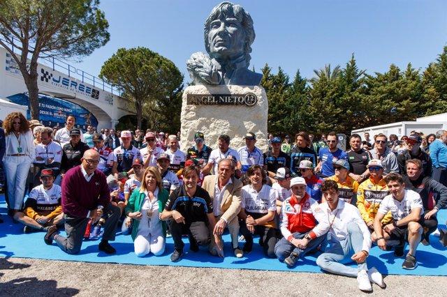Circuito Jerez : El circuito de jerez estrena su nueva denominación y un busto en