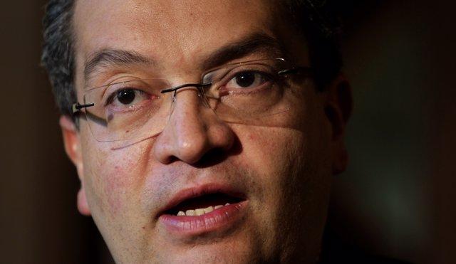 El nuevo procurador general de Colombia, Fernando Carrillo.