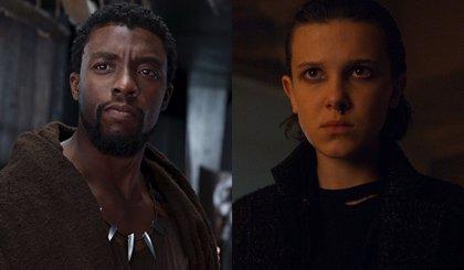 Black Panther  y Stranger Things lideran las nominaciones a los MTV Movie & TV Awards 2018