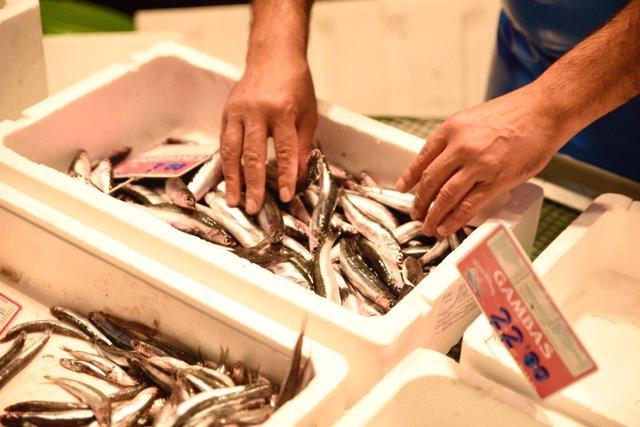 Mercado, mercados, pescado, pescadería