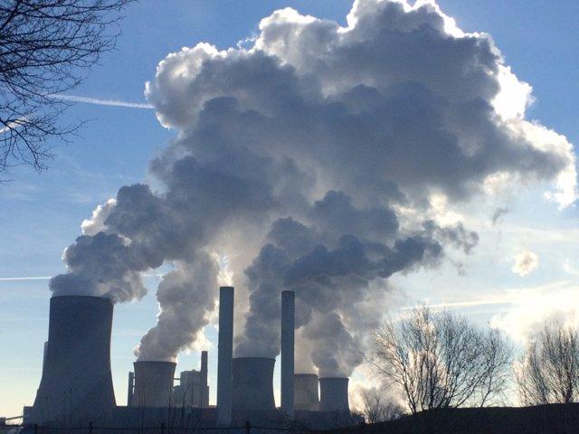 Emissions industrials de gasos
