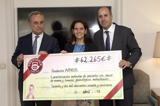 Pompidour recauda más de 62.000 euros para investigar el cáncer