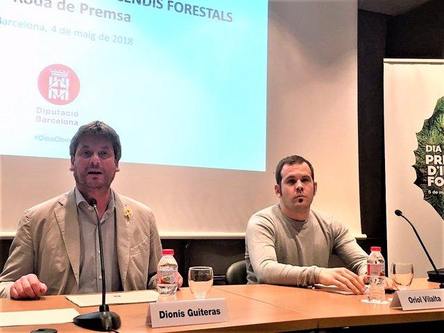 Dionís Guiteras (Diputació de Barcelona) Oriol Vilalta (FPC)