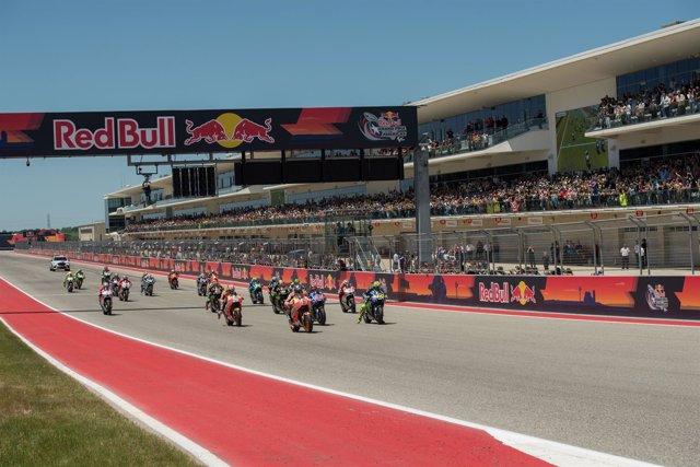 Una imagen del Campeonato del Mundo de MotoGP